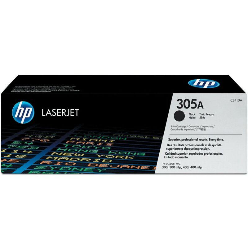 Image of Hewlett Packard HPCE410A Black Toner Cartridge NO.305A
