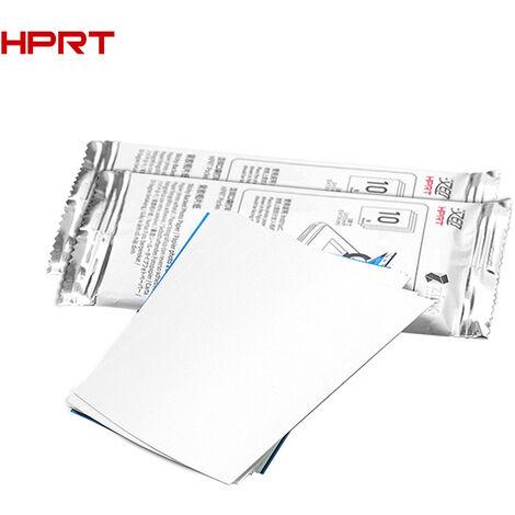 Hprt 20 Feuilles Post-It Soutenu Papier Photo 2 X 3 Pouces Inkless Technologie Pour Mt53 Sans Fil Bt Portable Imprimante Photo De Poche