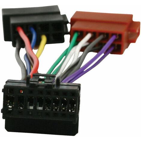 "main image of ""HQ Câble adaptateur ISO Pioneer 0.15 m NE794195"""