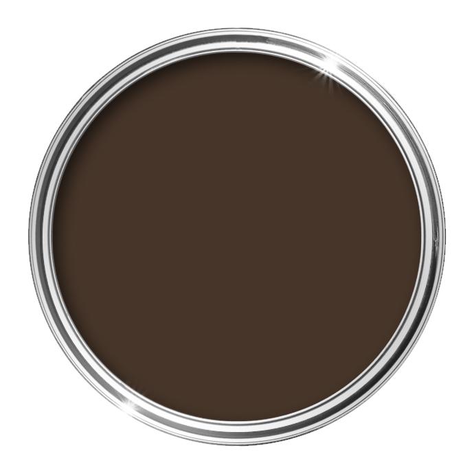 Image of Bathroom Matt Paint 0.5L (Brown) - 0,5 L - HQC