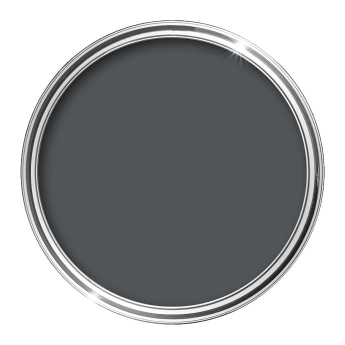 Image of Bathroom Matt Paint 0.5L (Classic Grey) - 0,5 L - HQC