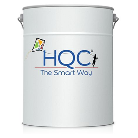 HQC Matt Emulsion Paint 1L (Brilliant White) - 1 L