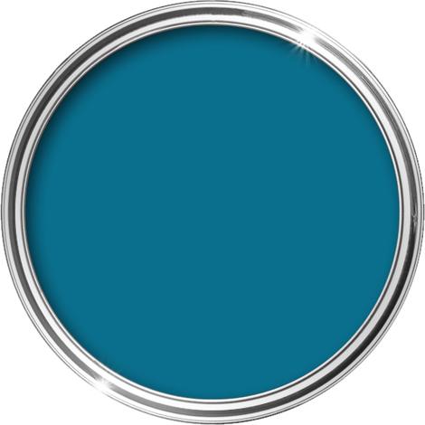 HQC Matt Emulsion Paint 1L (Marina Blue) - 1 L