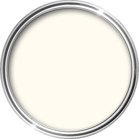 HQC White Matt Paint 1L (White) - 1 L