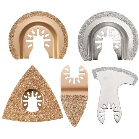Hss Saw Blade Rotary Tool Tg 33 5 Pcs Crabide & Diamond Oscillating Saw Blade Multi Tool Blade Fits Fein Multimaster