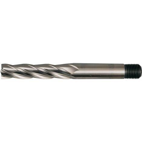 HSS Threaded Shank Multi Flute Long Series End Mills - Metric