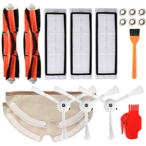 HSXM1803 Ensemble de 18 pieces - Accessoires pour balayeuse amillet WH