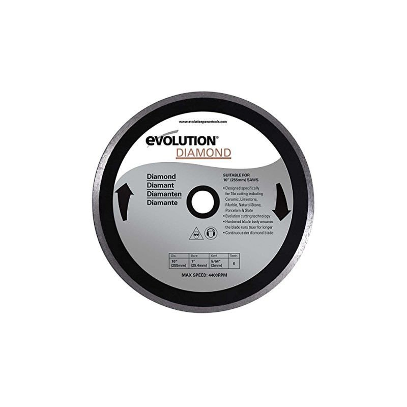 Image of Evolution Diamond Blade, 255 Mm - HTC EVOLUTION