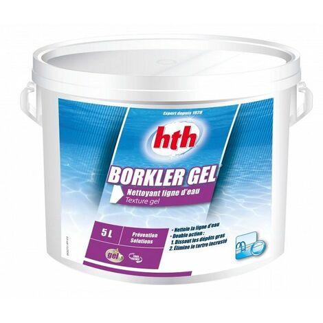 HTH Borkler gel 5L - Nettoyant ligne d'eau gel
