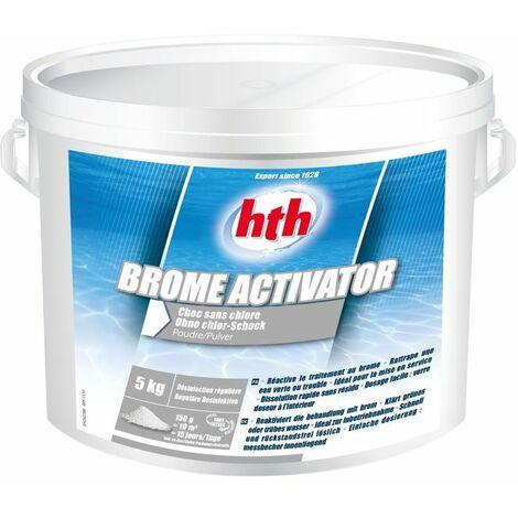hth Brome Activator - Désinfection choc sans chlore poudre 5kg