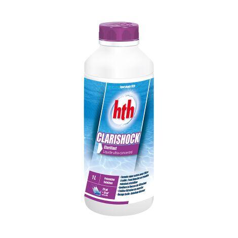 HTH Clarishock - Clarifiant pour piscine avec filtre à sable 1 L