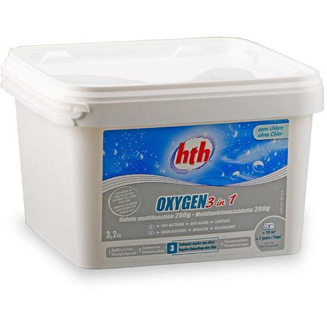 hth Oxygen 3 in 1 Aktivsauerstoff 3,2 kg