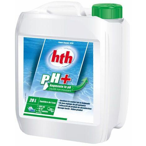 HTH pH Plus 20 L - pH Plus liquide