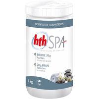 HTH Spa 1kg - Pastilles de brome sans chlore 20g