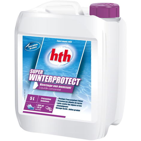 HTH Super Winterprotect 5L - Produit hivernage non moussant