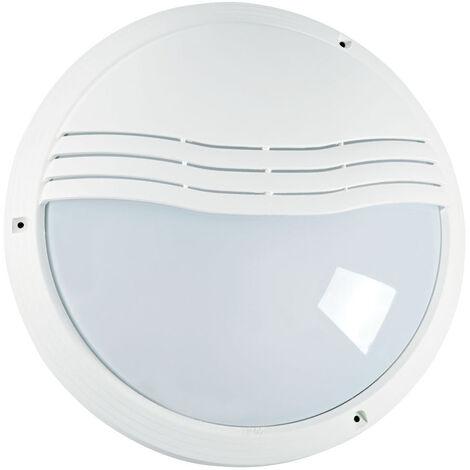 HUB 270TP - Hublot Ext. IP65 IK10, blanc, E27 40W max., lpe non incl.