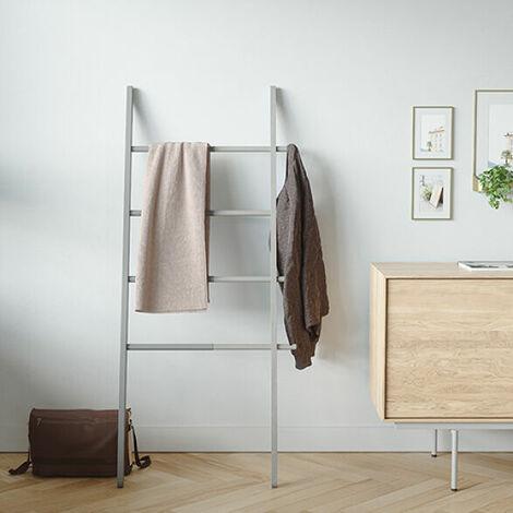 Hub Towel Ladder Rack - Grey