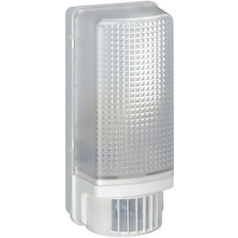 Hublot 60w avec détecteur infrarouge 110° blanc