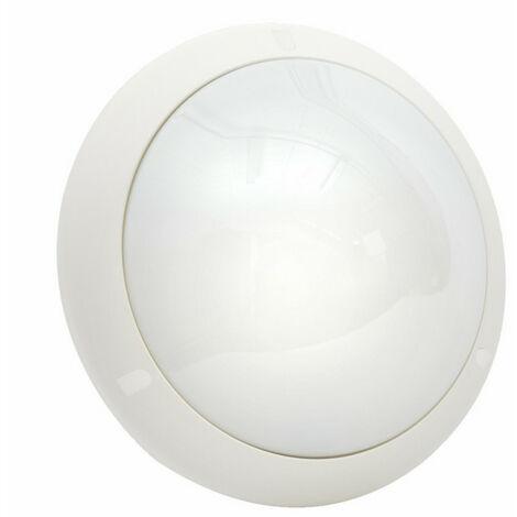 Hublot Chartres Origine antivandale blanc taille 1 à détection HF avec douille E27 à équiper (714570)