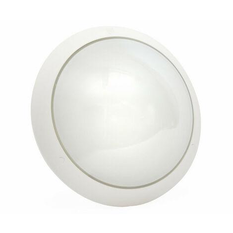 Hublot Chartres Origine standard blanc taille 1 à détection HF avec douille E27 à équiper (514570)
