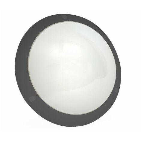 Hublot Chartres Origine standard noir taille 1 à détection HF avec douille E27 à équiper (514576)