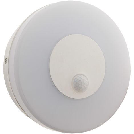 Hublot d'extérieur LED 12W IP65 avec détecteur de mouvement - Elexity