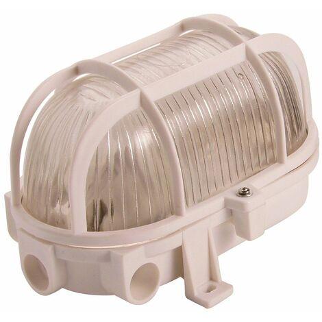 Hublot E27 60w Pvc Verre Blanc - PROLIGHT