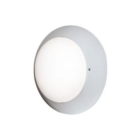 Hublot extérieur Ø 310mm anneau blanc diffuseur verre pour lampe E27 230V (non incl) CL2 IK02 IP54 DUNE 310 EBENOID 079075