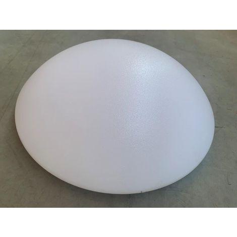 Hublot LED 25W Ø 480mm polyvalent diffuseur PMMA opale 3000K 2100lm 230V IK02 IP40 HUBLI-M LEDIZ DIETAL 88267
