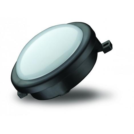 HUBLOT LED 6W ROND NOIR