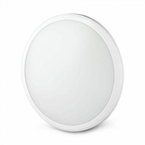 Hublot LED Avec Détecteur  Pro 12W 120lm/W Ip54 Samsung Chip Blanc Vt-12ss