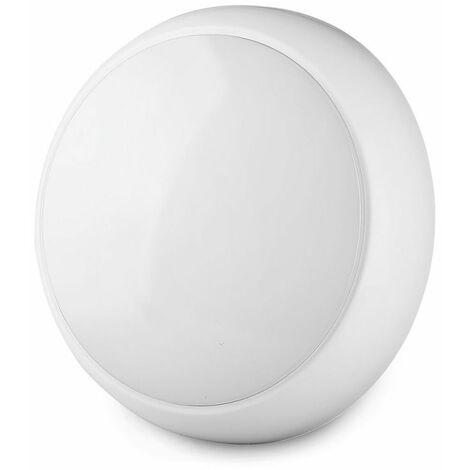 Hublot LED Avec Détecteur  Pro 15W Ip65 Samsung Chip Blanc Vt-16