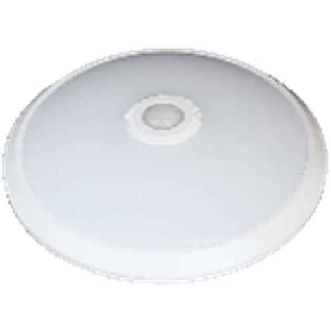 Hublot LED rond 18W avec détecteur 1260 lumens