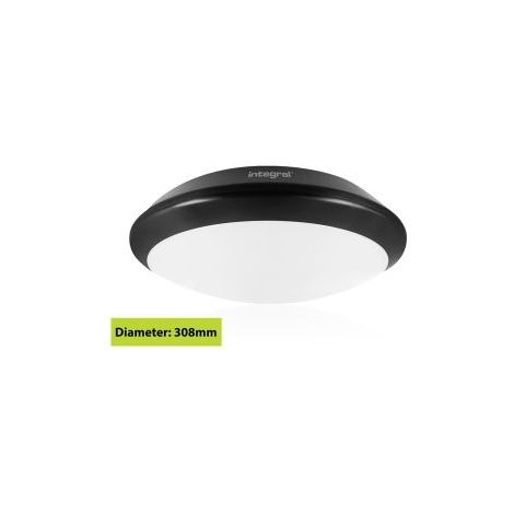 Hublot noirTough Shell + 308mm IP66 INTEGRAL LED ILBHA049