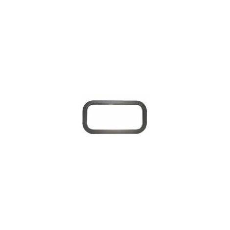 Hublot Oval 610 x 203 mm pour panel 40 mm extérieur/interieur noir - 840231.