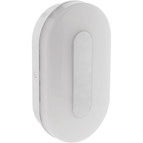 Hublot ovale d'extérieur LED IP65 - 12W ou 18W