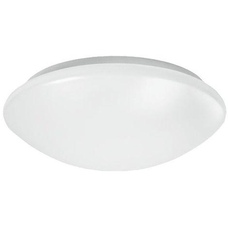 HUBLOT PLAFONNIER ROND LED 18W 1800LM BLANC CHAUD (3000K) DIAMETRE 300 IP20 - Blanc