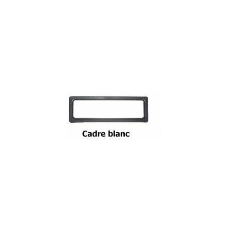Hublot Rectangulaire 610 x 203 mm pour panel 40 mm **Couleur Blanc ** - 840211.