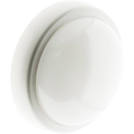 Hublot rond LED 15W 1050 lm IP44 Blanc