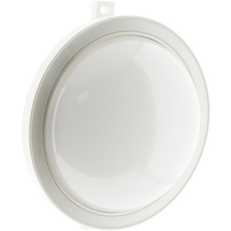 Hublot rond LED 5.5W 450 lm - IP44 - Blanc