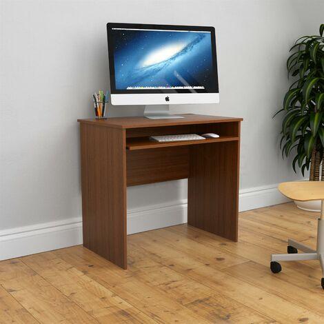 Huby Computer Desk, Walnut
