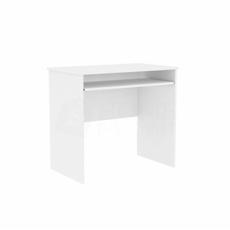 Huby Computer Desk, White