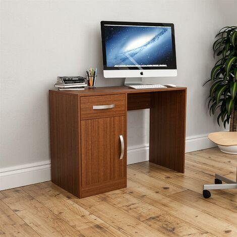 Hudson Computer Desk, Walnut