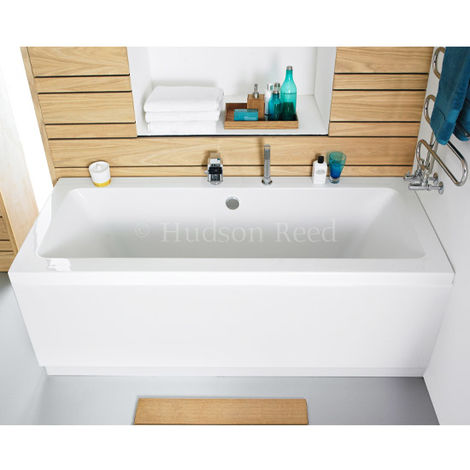 Hudson Reed 1700mm Gloss White Front Bath Panel