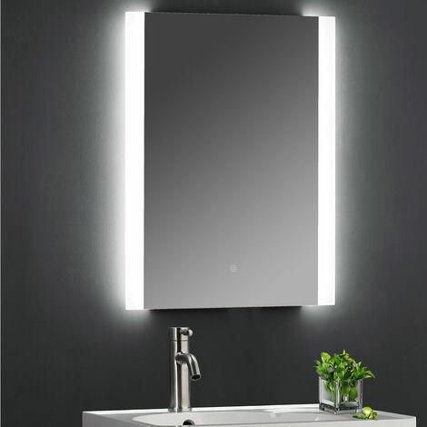 Hudson Reed Ambient Bathroom Mirror with 21W Bulb 700mm H x 500mm W