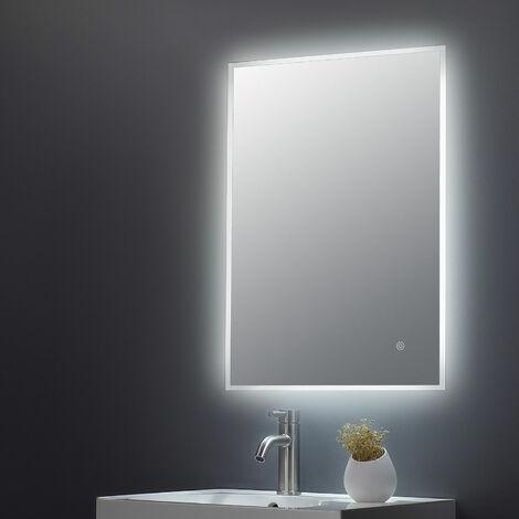 Hudson Reed Ambient Bathroom Mirror with 25W Bulb 700mm H x 500mm W