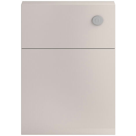 Hudson Reed Apollo Back-to-Wall WC Unit, 600mm Wide, Gloss Cashmere