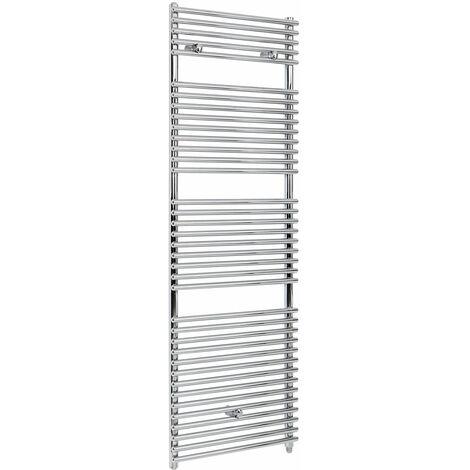 Hudson Reed Arno - Sèche-Serviettes Design Électrique Moderne - Chromé - 173,8 cm x 60 cm
