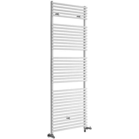 Hudson Reed Arno - Sèche-Serviettes Design Mixte Moderne - Blanc - 173,8 cm x 60 cm