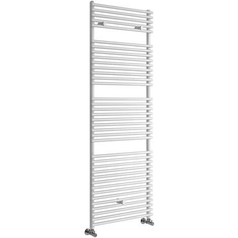 Hudson Reed Arno - Sèche-Serviettes Design Moderne - Blanc - 173,8 cm x 60 cm